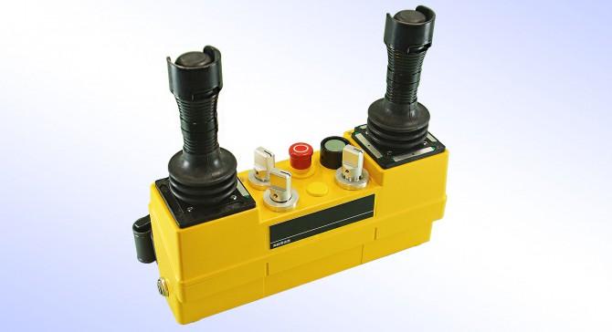 ハイパーテレコン(UVHタイプ) │ 装着型 クレーン用無線装置 (ウエストタイプテレコン)