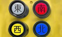 銘板のカラー、大きさ変更によるスイッチ識別